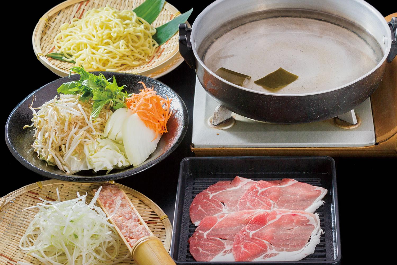 瑞穂の芋豚 基本鍋コース
